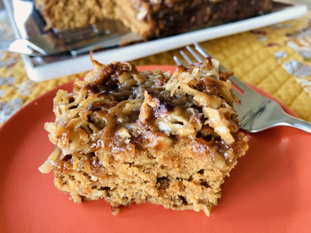 Caramel-Oatmeal Pecan Coffee Cake – Recipe! Image 1