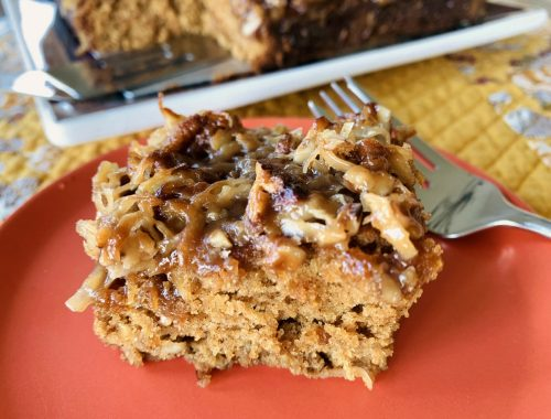 Caramel-Oatmeal Pecan Coffee Cake – Recipe!