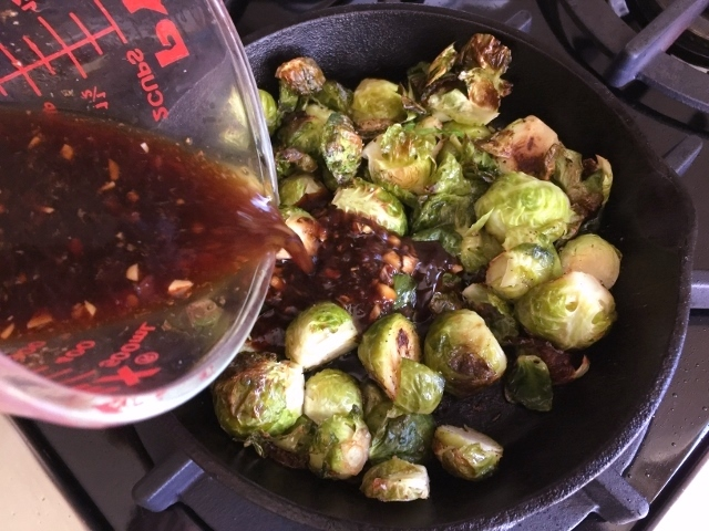 Roasted Brussels Sprouts in Chili Lime Sauce – Recipe! Image 3