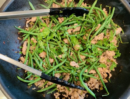 Thai Ground Pork & Green Beans – Recipe!