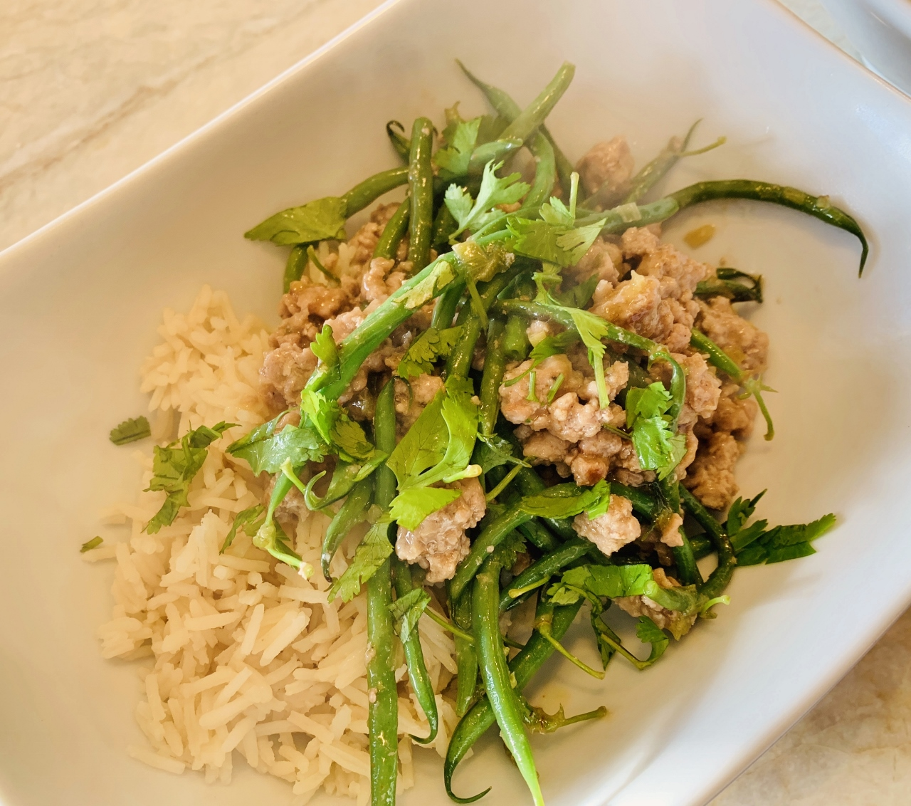 Thai Ground Pork & Green Beans – Recipe! Image 2