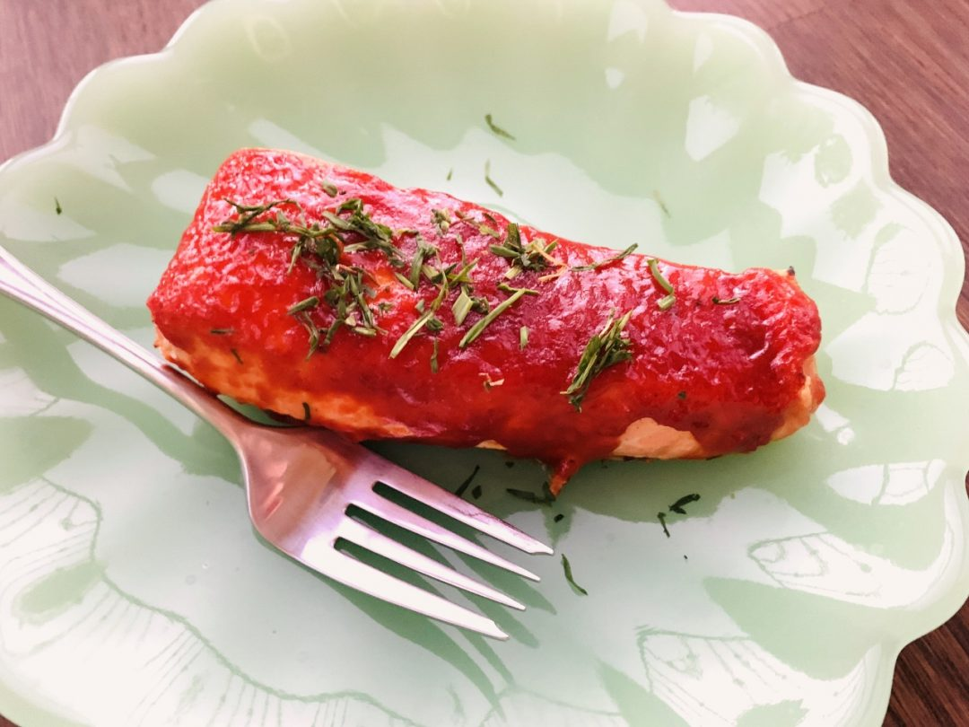 Broiled Korean Barbecue Salmon – Recipe! Image 1