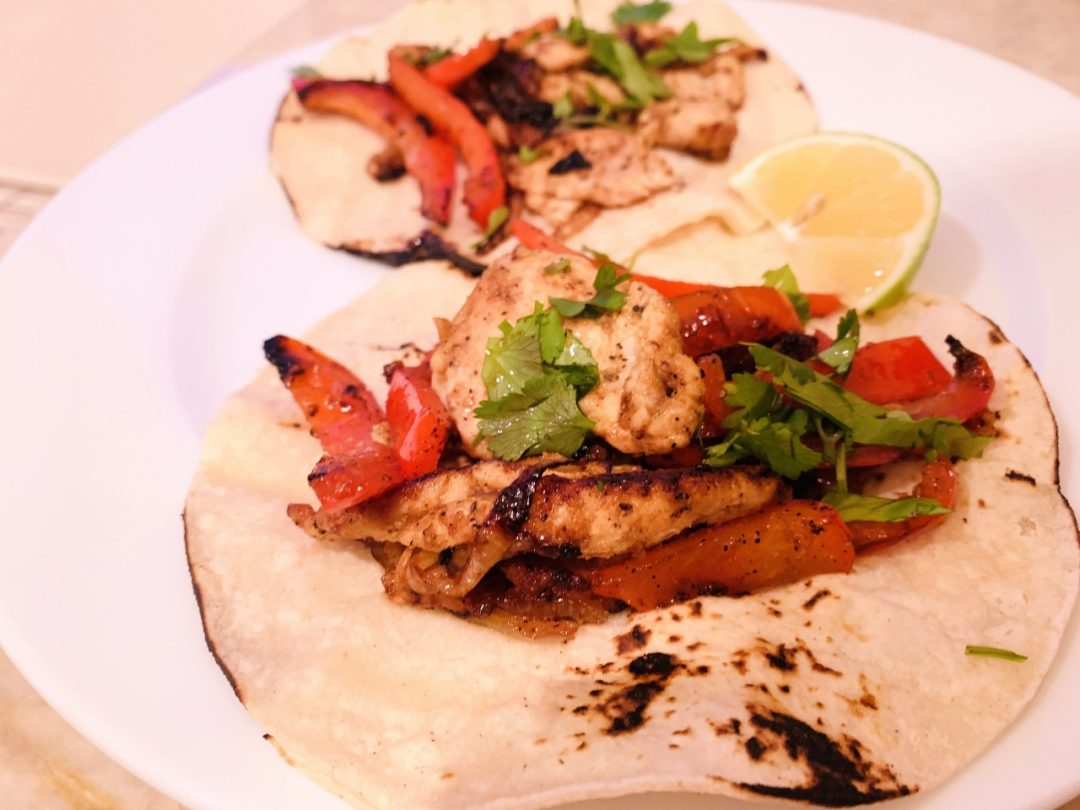 Chicken Fajita Tacos – Recipe! Image 1