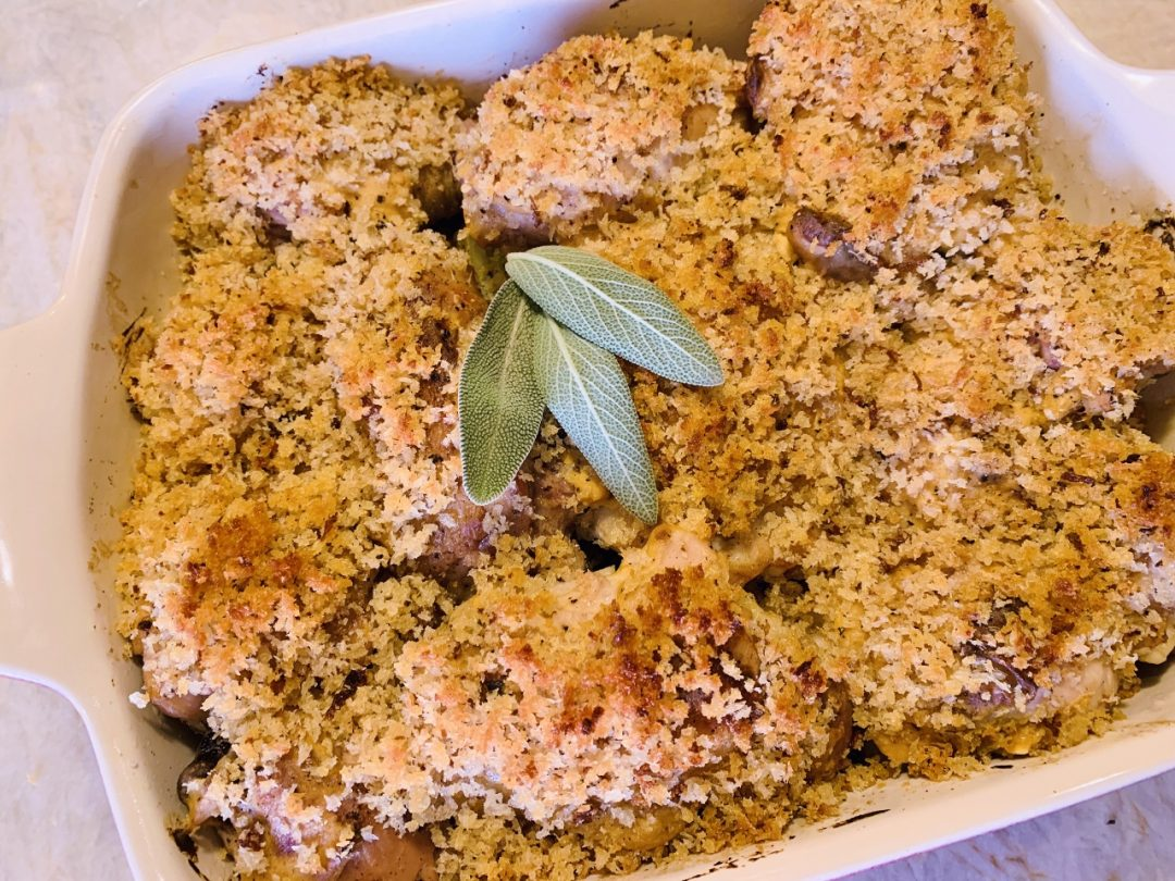 Crispy Deviled Chicken & Potatoes – Recipe! Image 1