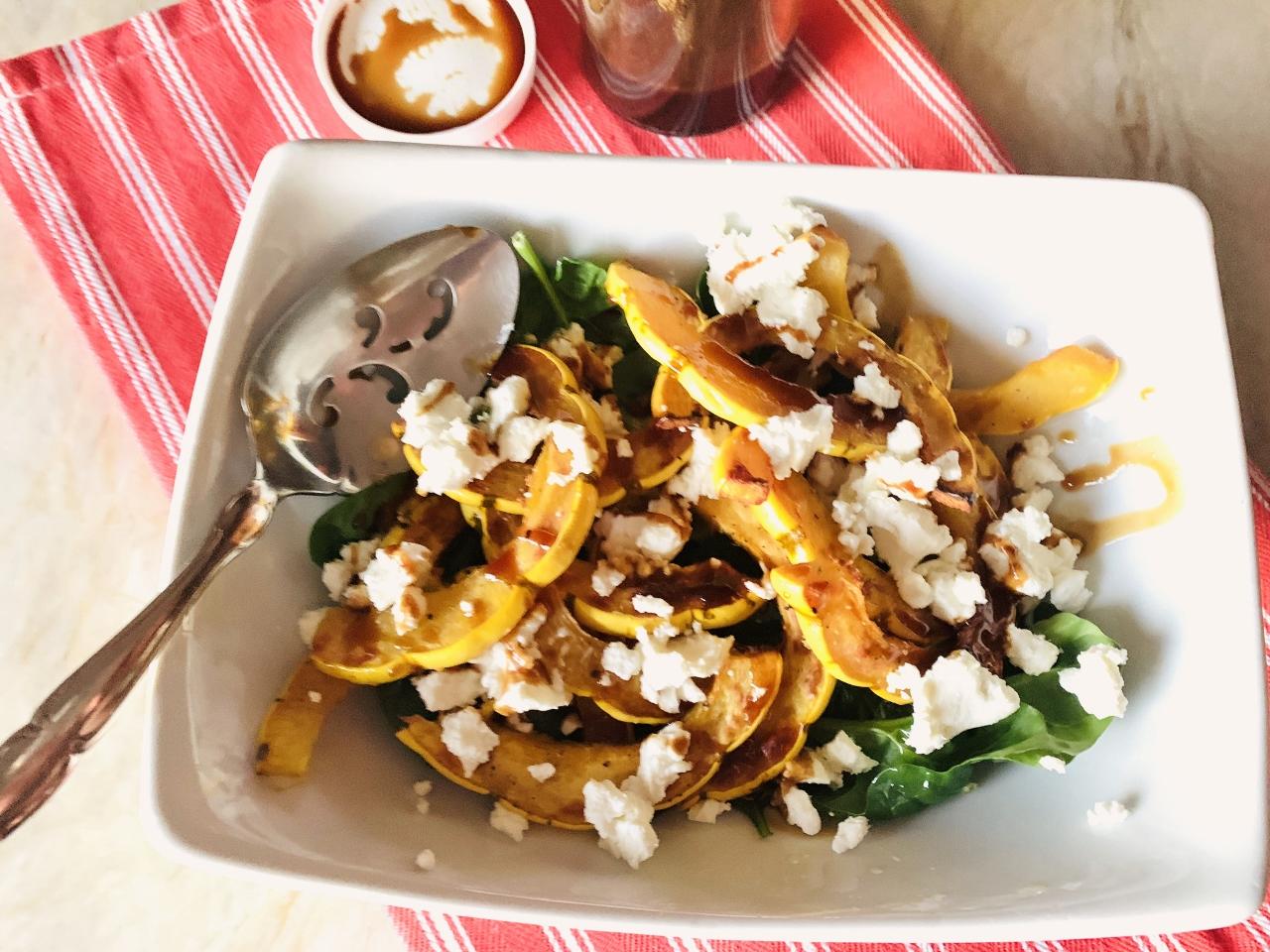 Delicata Squash & Goat Cheese Salad – Recipe! Image 2