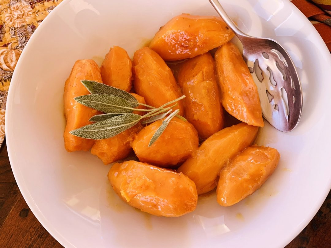 Instant Pot Glazed Orange Sweet Potatoes – Recipe! Image 1