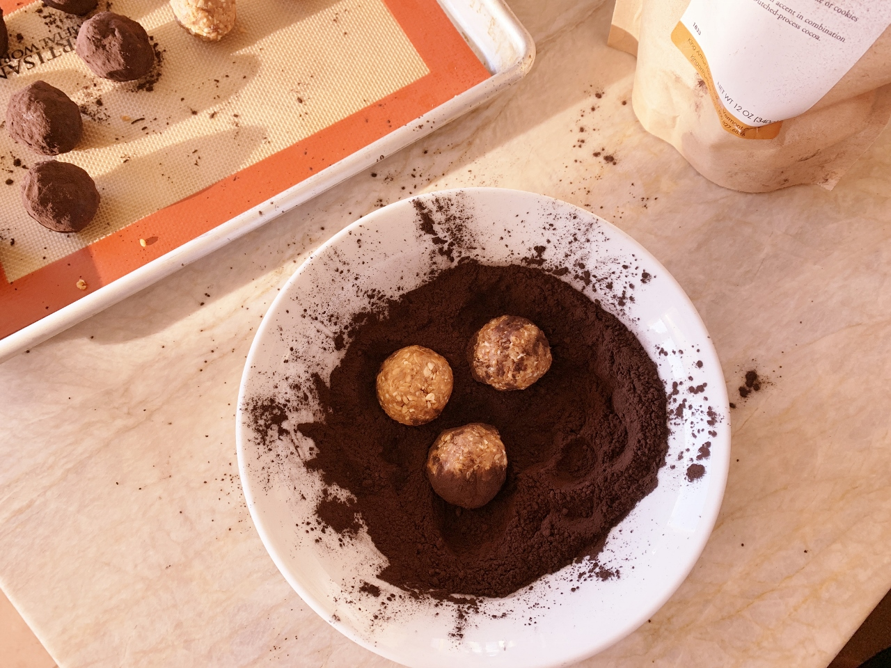 Healthy Peanut Butter Cocoa Balls – Recipe! Image 4