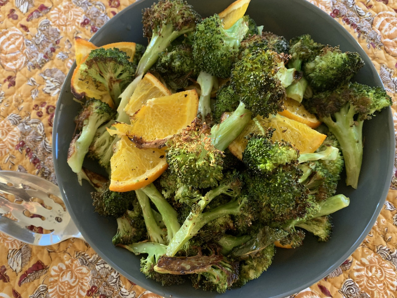 Roasted Broccoli with Oranges – Recipe! Image 2