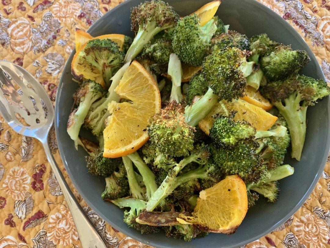 Roasted Broccoli with Oranges – Recipe! Image 1