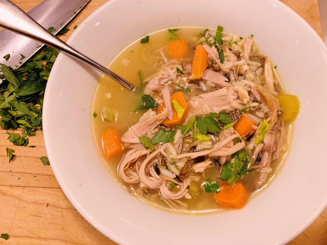 Turkey & Wild Rice Soup – Recipe! Image 2