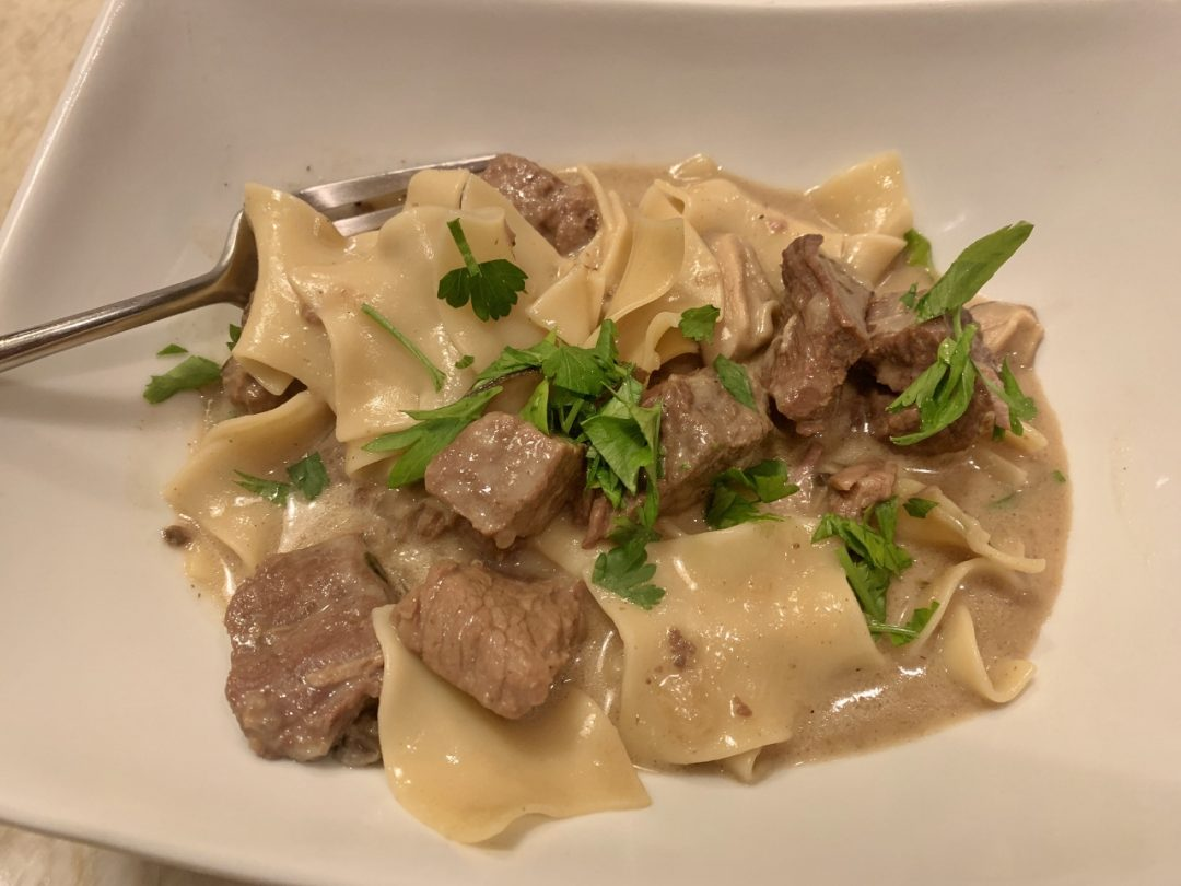 Instant Pot Beef Stroganoff Recipe Live Love Laugh Food