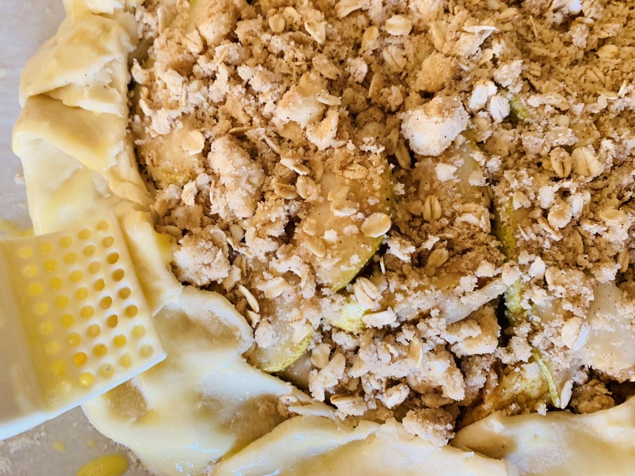 Rustic Pear Tart – Recipe! Image 5