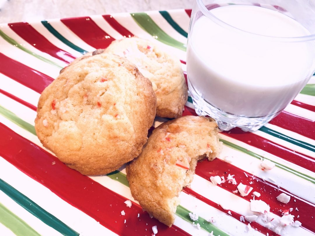 White Chocolate Peppermint Cookies – Recipe! Image 1