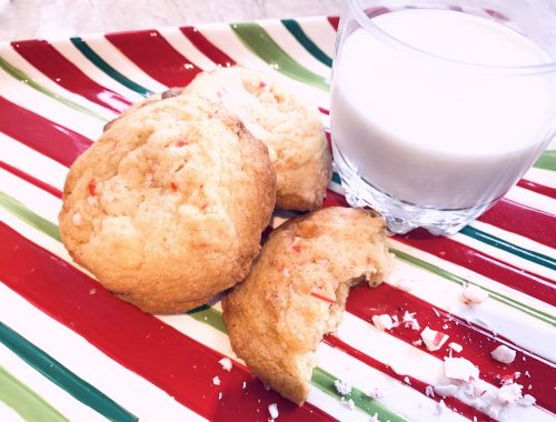 White Chocolate Peppermint Cookies – Recipe!