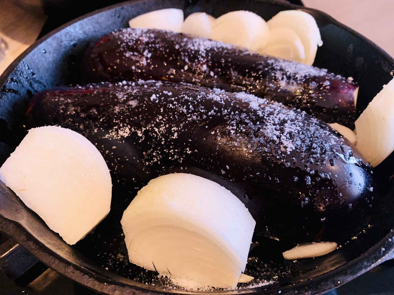 Roasted Eggplant Onion Dip – Recipe! Image 4