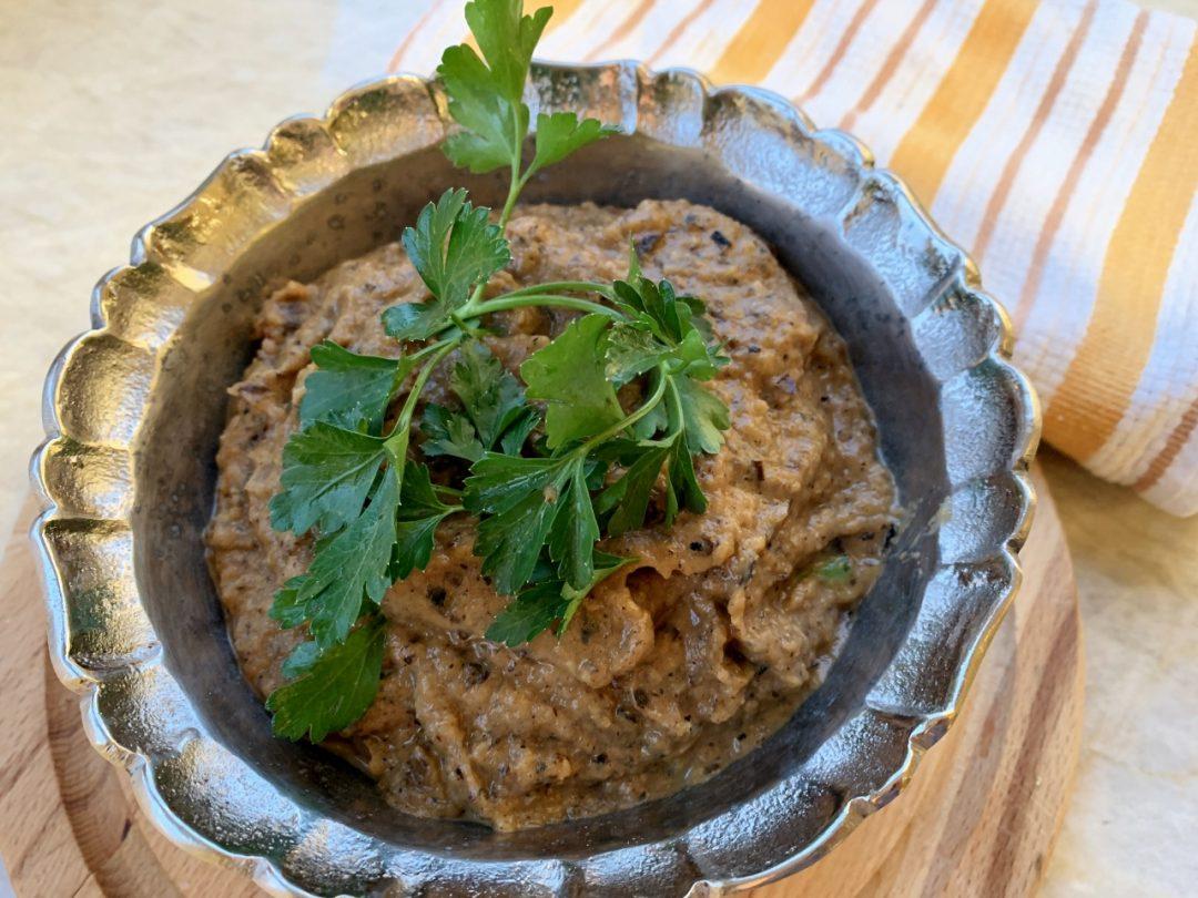 Roasted Eggplant Onion Dip – Recipe! Image 1