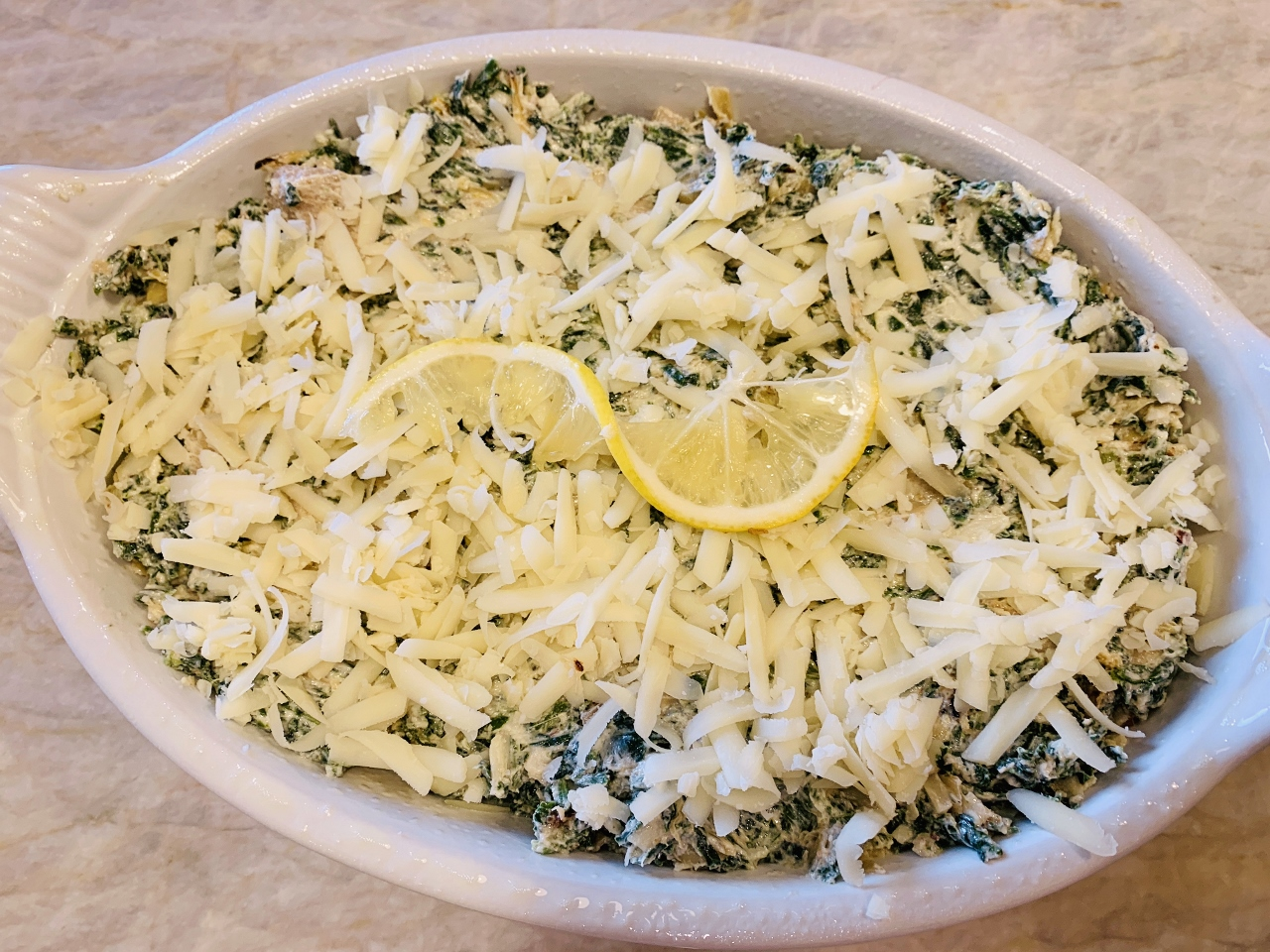 Roasted Lemon Spinach & Artichoke Dip – Recipe! Image 3