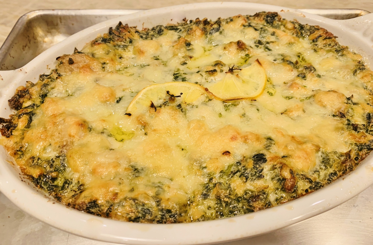 Roasted Lemon Spinach & Artichoke Dip – Recipe! Image 2