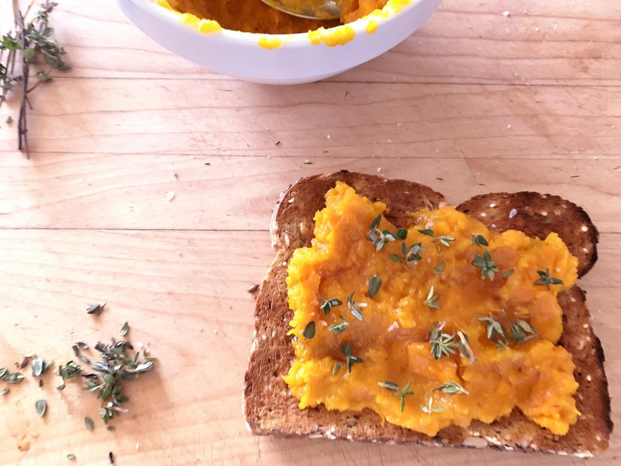 Roasted Squash Toasts – Recipe! Image 2