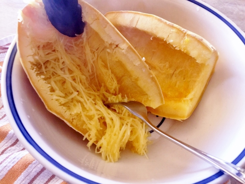 Spaghetti Squash Arrabbiata – Recipe! Image 3