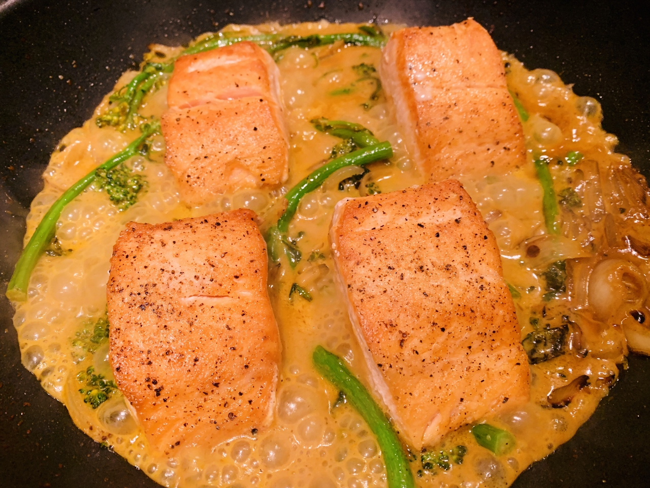 Thai Red Curry Salmon & Broccolini – Recipe! Image 2