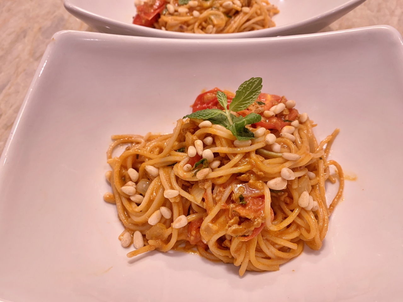 Vegan Chorizo Spaghetti with Cherry Tomatoes – Recipe! Image 2