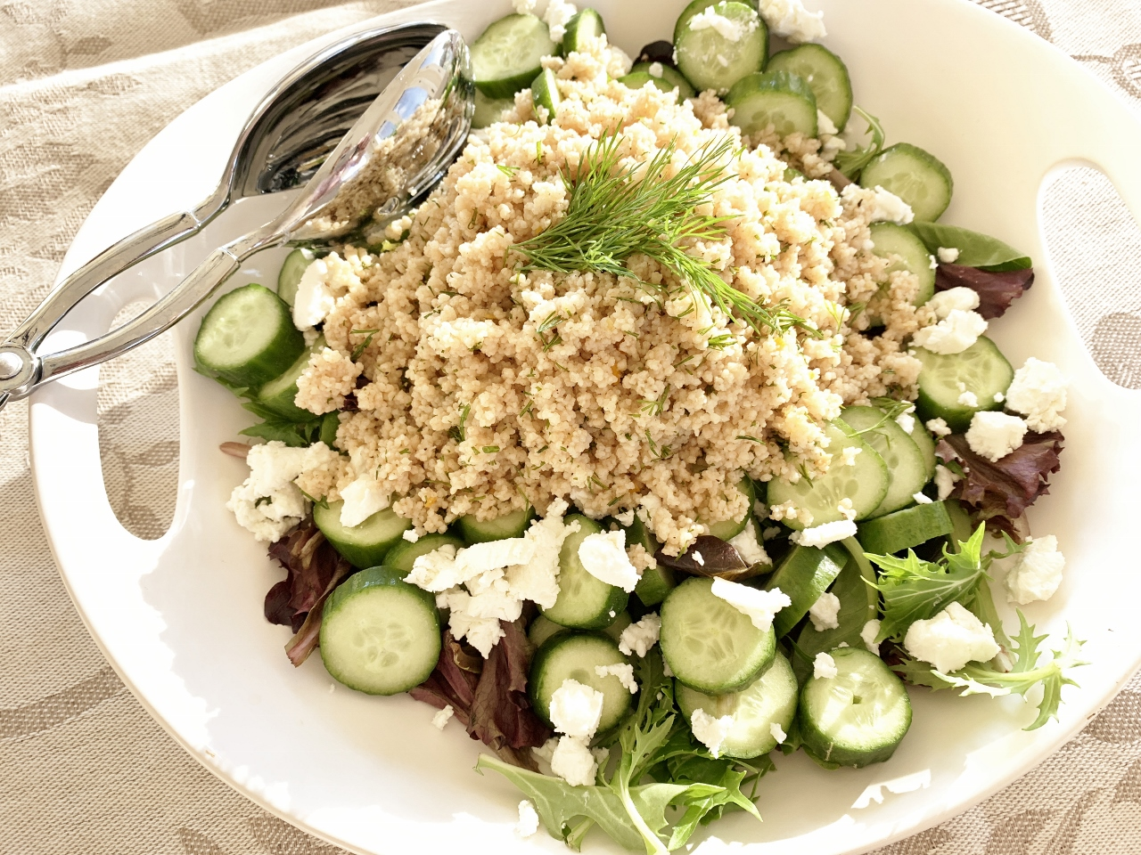 Cucumber Couscous Salad – Recipe! Image 2