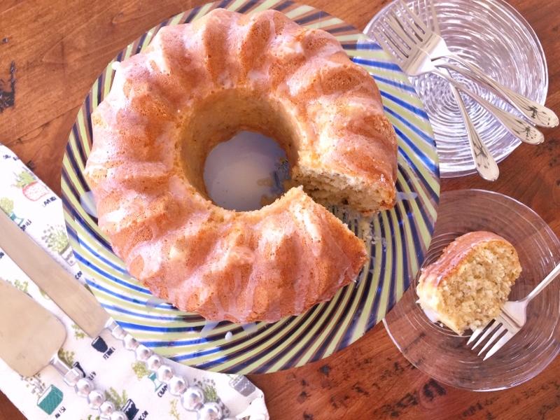 Pistachio Bundt Cake with Lemon Glaze – Recipe! Image 1