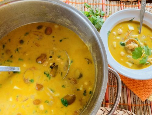 Coconut-Curry Chickpea Soup – Recipe!