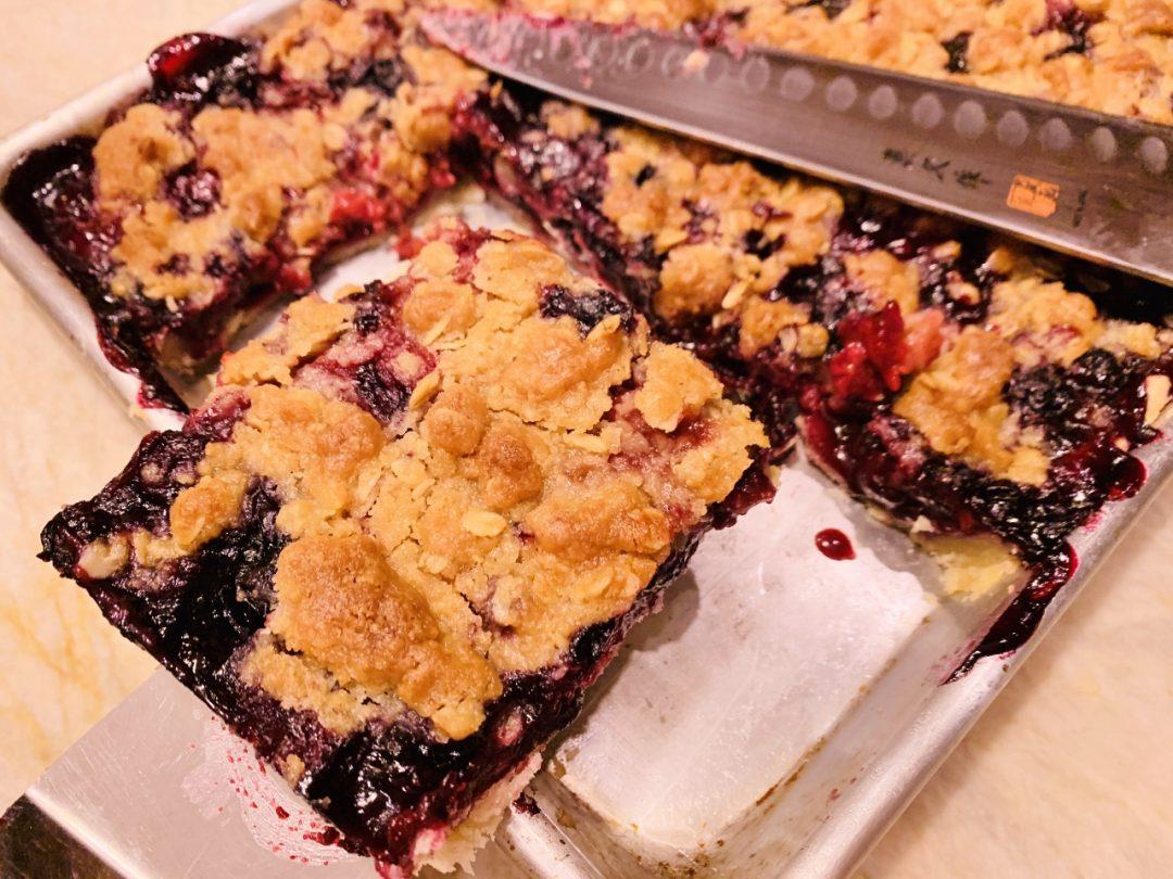 Mixed Berry Crumb Slab Pie – Recipe! Image 1