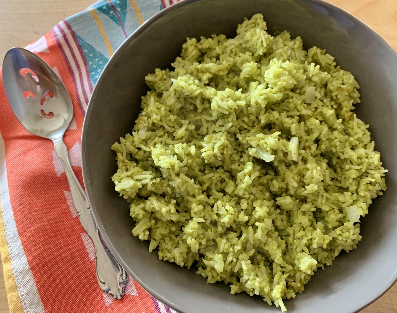 Arroz Verde – Recipe! Image 2