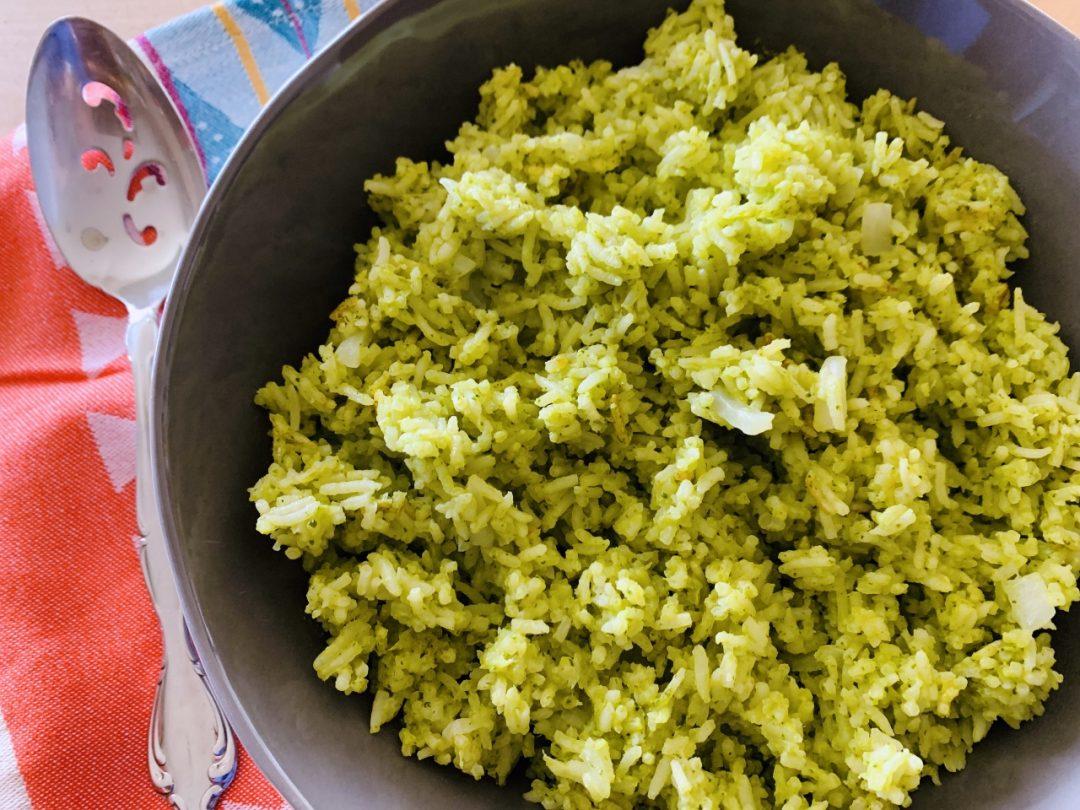 Arroz Verde – Recipe! Image 1
