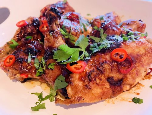 Honey-Chili Chicken – Recipe!