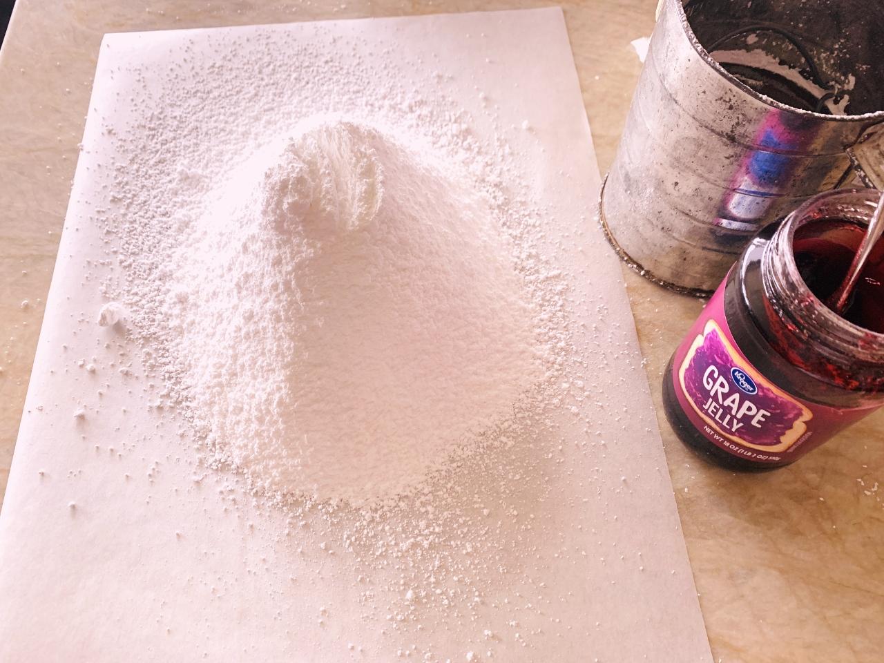 Peanut Butter Cake with Grape Buttercream – Recipe! Image 4