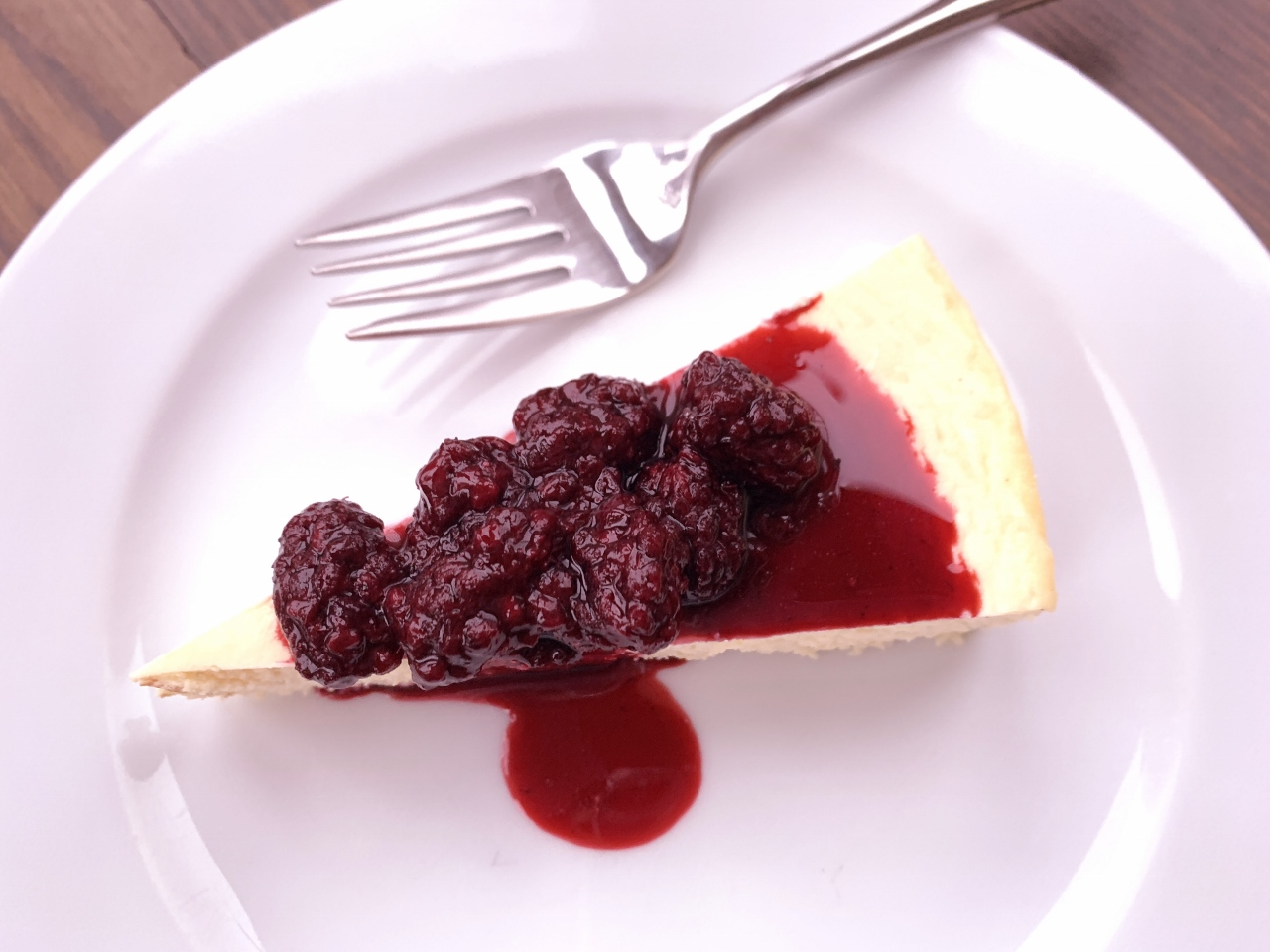 Low-Carb Cheesecake with Blackberry Compote – Recipe! Image 2