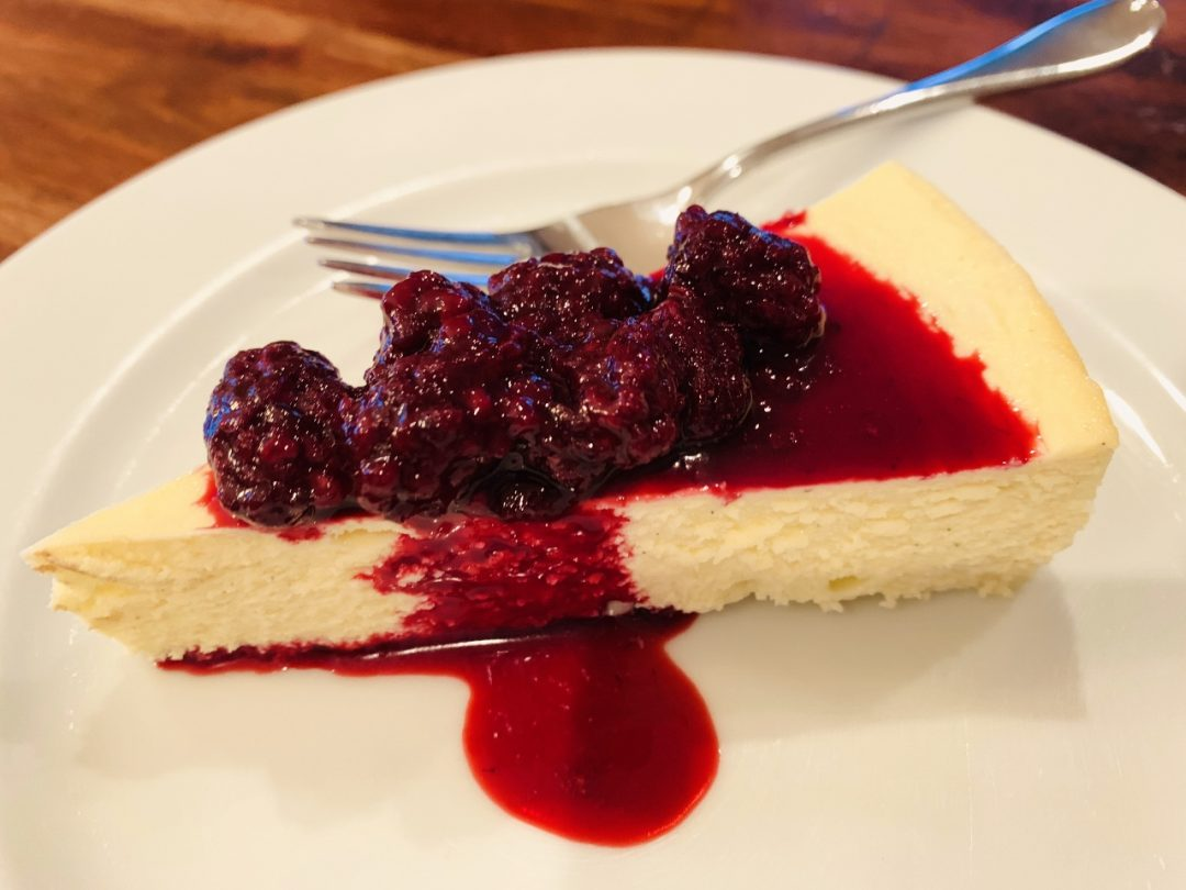 Low-Carb Cheesecake with Blackberry Compote – Recipe! Image 1
