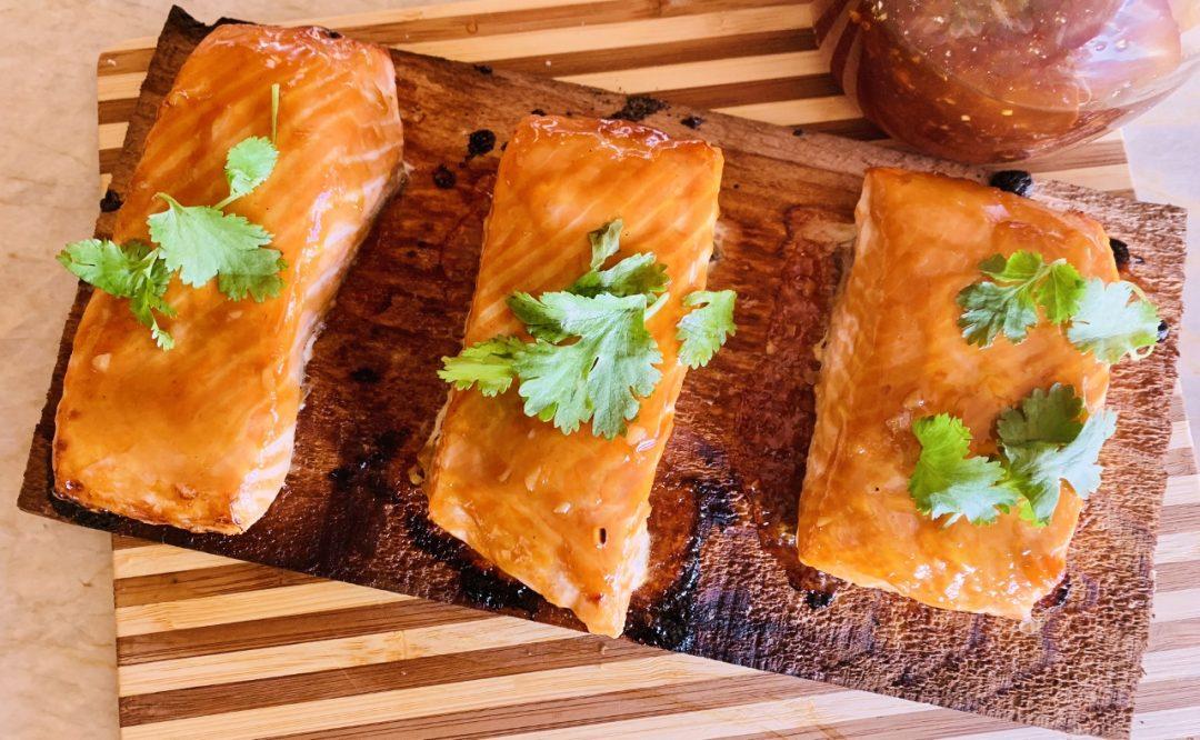 Cedar Plank Teriyaki Salmon – Recipe! Image 1