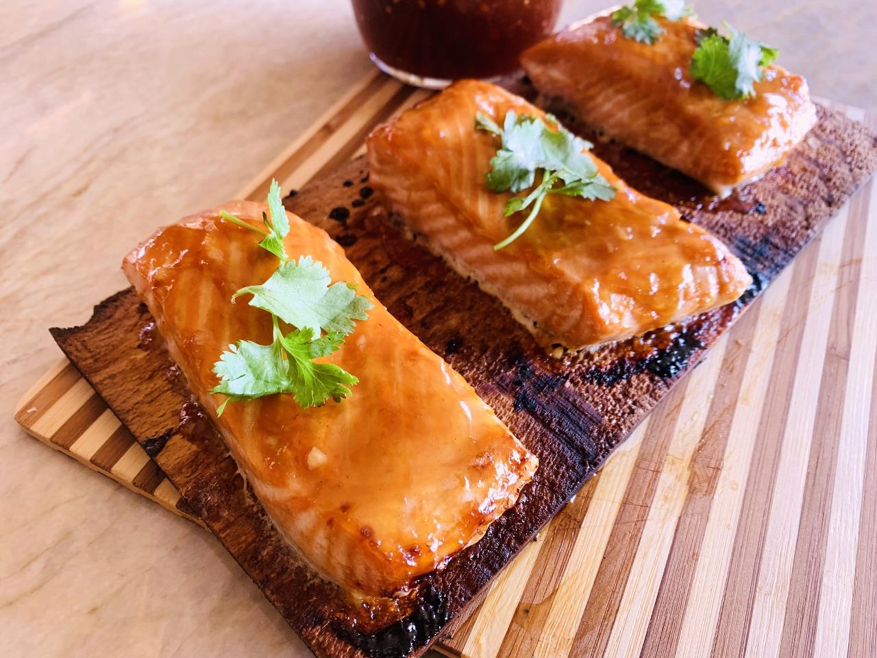 Cedar Plank Teriyaki Salmon – Recipe! Image 2