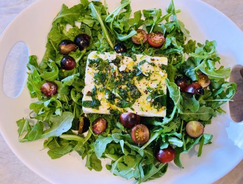 Marinated Feta Salad – Recipe!
