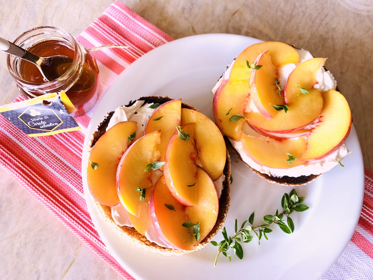 Peach & Honey Bagels – Recipe! Image 2
