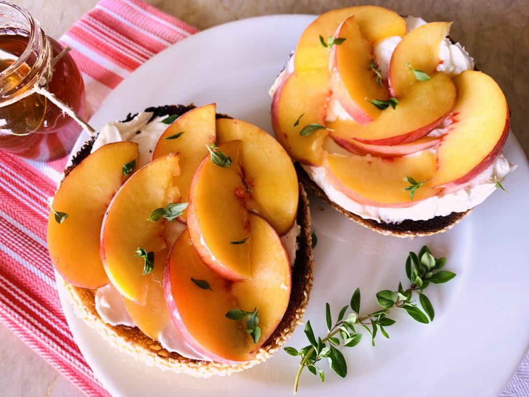 Peach & Honey Bagels – Recipe! Image 1