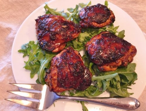 Grilled Asian Chicken Thighs – Recipe!