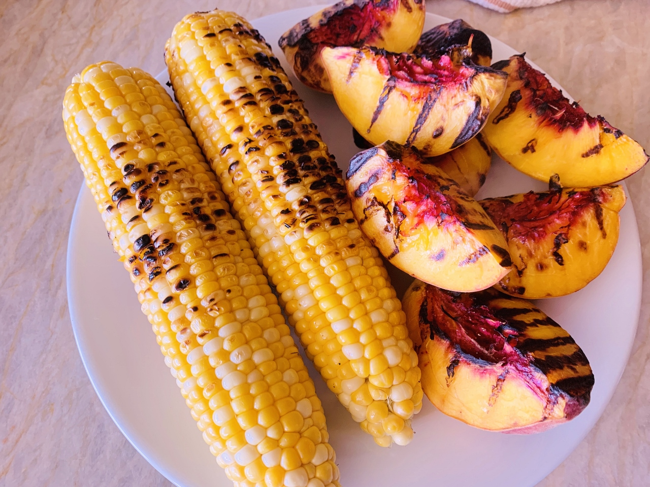 Grilled Peach & Sweet Corn Salad – Recipe! Image 5