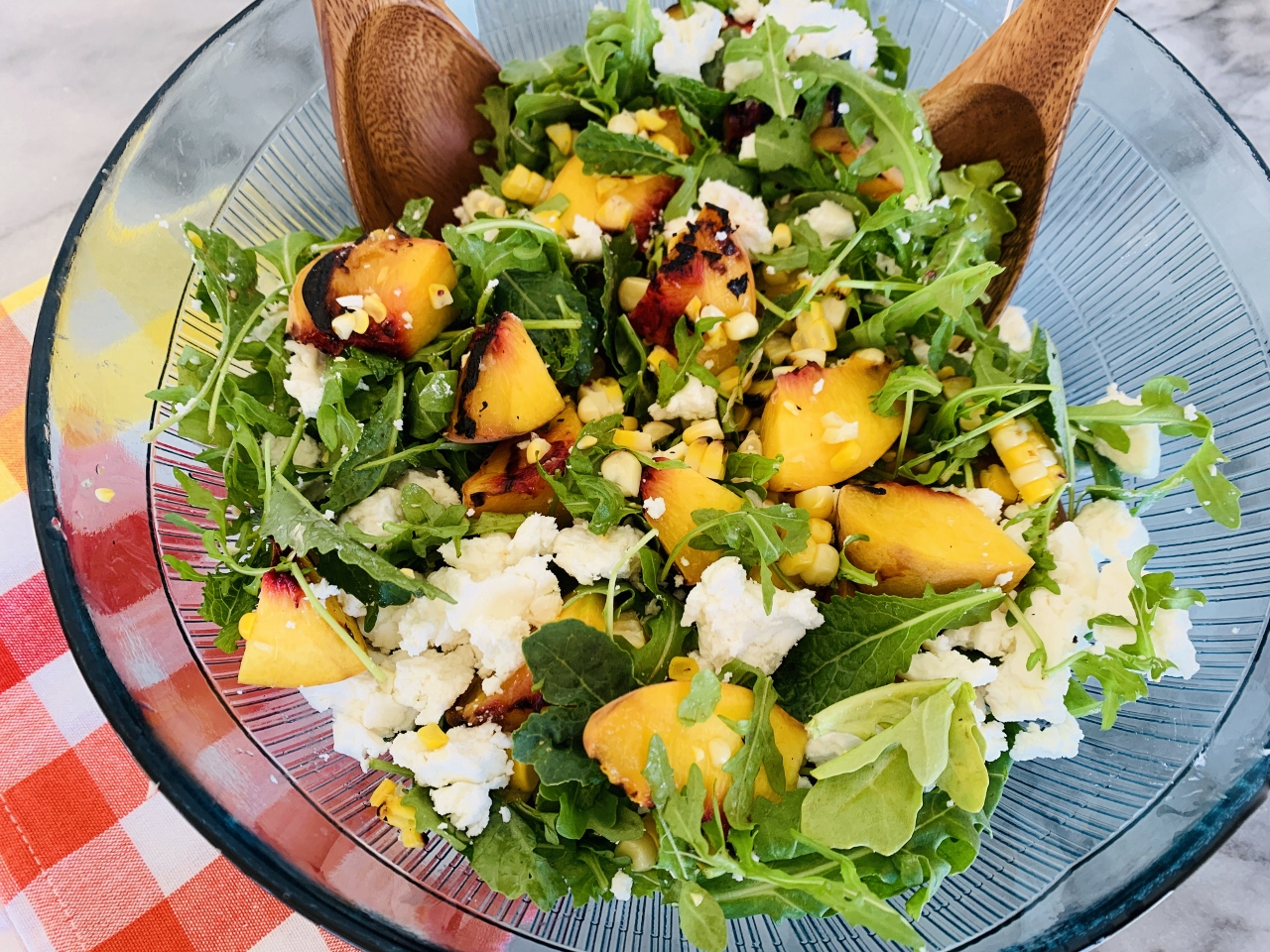 Grilled Peach & Sweet Corn Salad – Recipe! Image 2