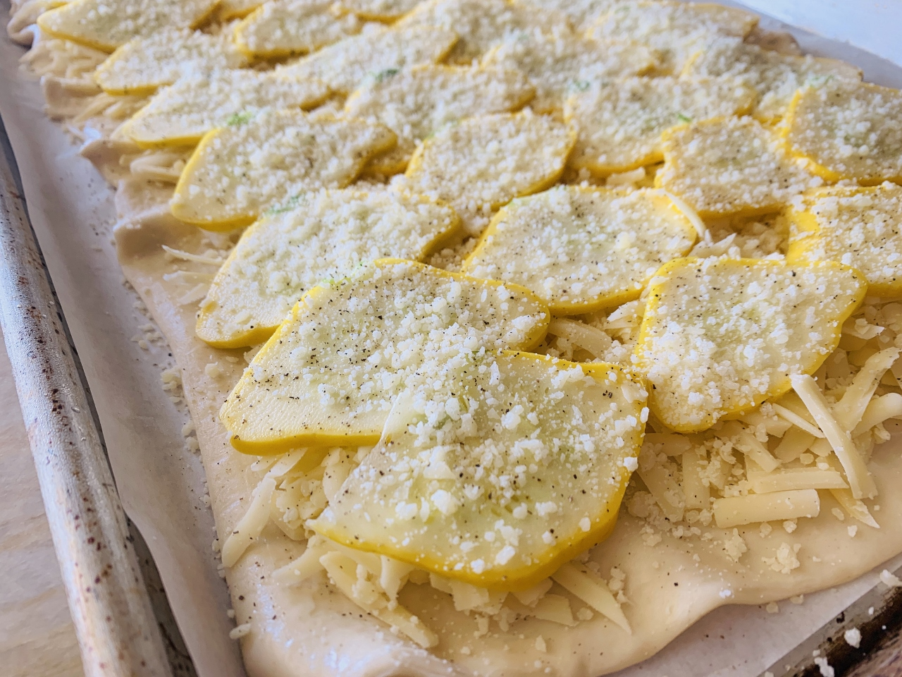 Patty Pan Squash & Gruyere Tart – Recipe! Image 4