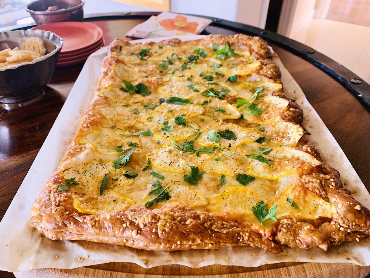 Patty Pan Squash & Gruyere Tart – Recipe! Image 2