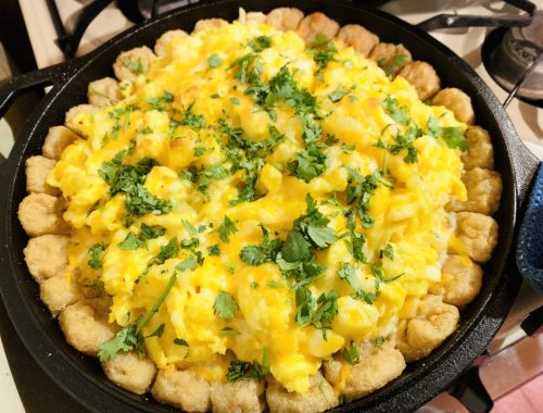 Skillet Breakfast Pizza – Recipe!