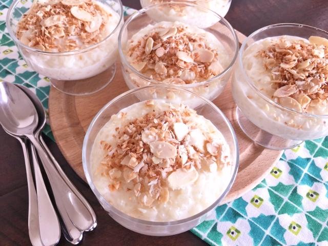 Coconut Almond Rice Pudding – Recipe! Image 1