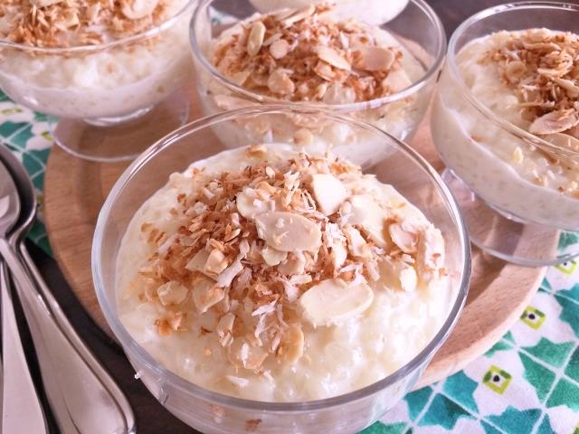 Coconut Almond Rice Pudding – Recipe! Image 2