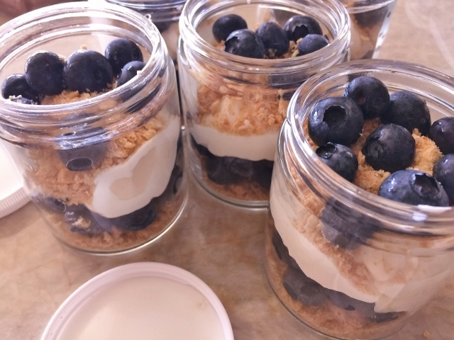 No-Bake Blueberry Cheesecake Jars – Recipe! Image 1